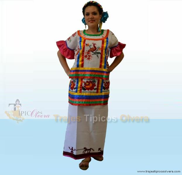 Traje Tipico De Mexico Para Nina's